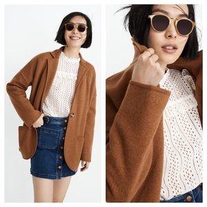 NWT! MADEWELL Saville Sweater Blazer Coat Jacket
